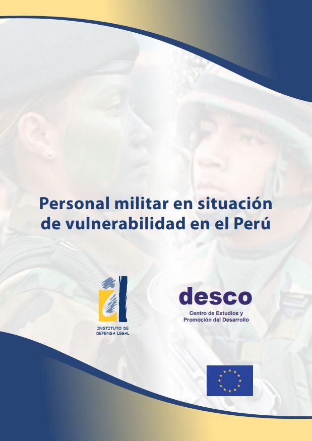 Personal militar en situación de vulnerabilidad en el Perú