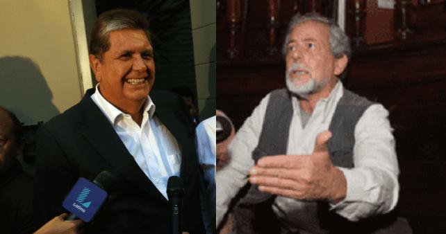Alan García y Gustavo Gorriti intercambian insultos por Odebrecht