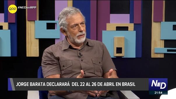 """Gorriti: Barata tuvo relación de negocios con Toledo y Humala, """"con García tuvo una real amistad"""""""