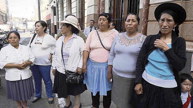 Mujeres violadas por militares esperan justicia hace 35 años
