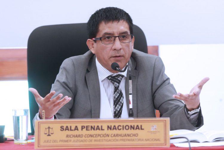 Pronunciamiento: La decisión de apartar al juez Carhuancho es un exceso