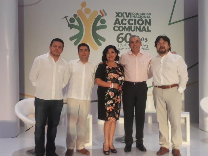 Área de Seguridad Ciudadana participó en evento de juntas comunales en Colombia