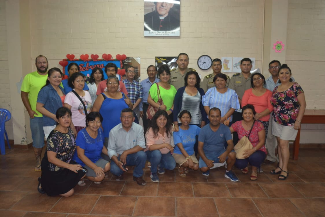 Colectivo y nuevos comisarios planean estrategias de seguridad ciudadana en Villa El Salvador