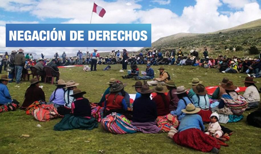 Procuraduría del Mincul se opuso a la consulta previa para comunidad campesina de Puno