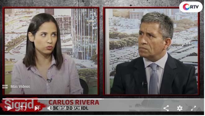 """Carlos Rivera: """"No hay ninguna razón legal para que Fujimori permanezca en la clínica"""""""
