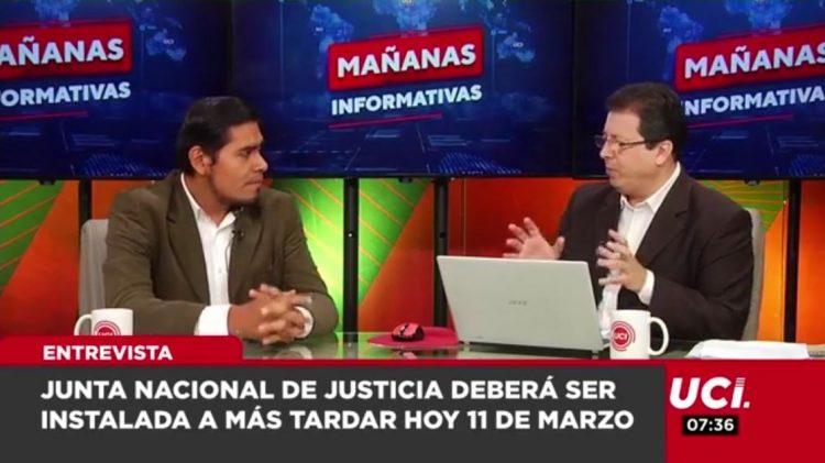 Luis Miguel Purizaga comenta el proceso de instalación de la Junta Nacional de Justicia