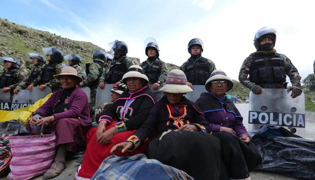 Las Bambas: presentan acción de amparo contra el convenio entre minera y la PNP (El Comercio)