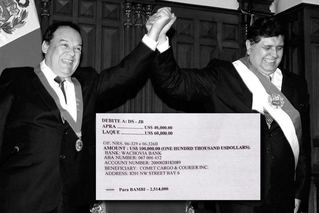 IDL Reporteros detalla aporte ilegal de Odebrecht a favor de Alan García Pérez