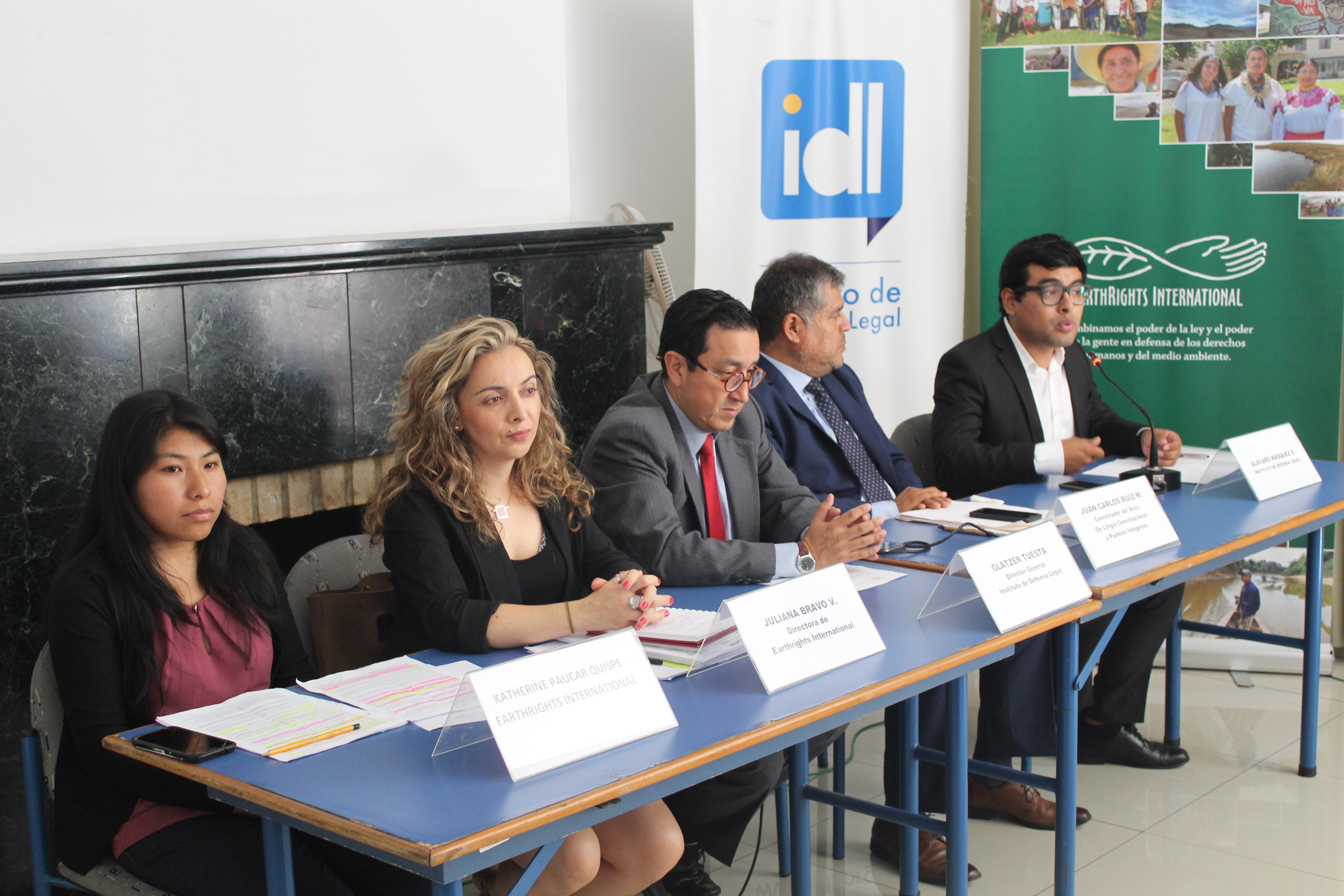 Presentan demanda de inconstitucionalidad contra convenios entre mineras y la Policía Nacional (Lamula.pe)