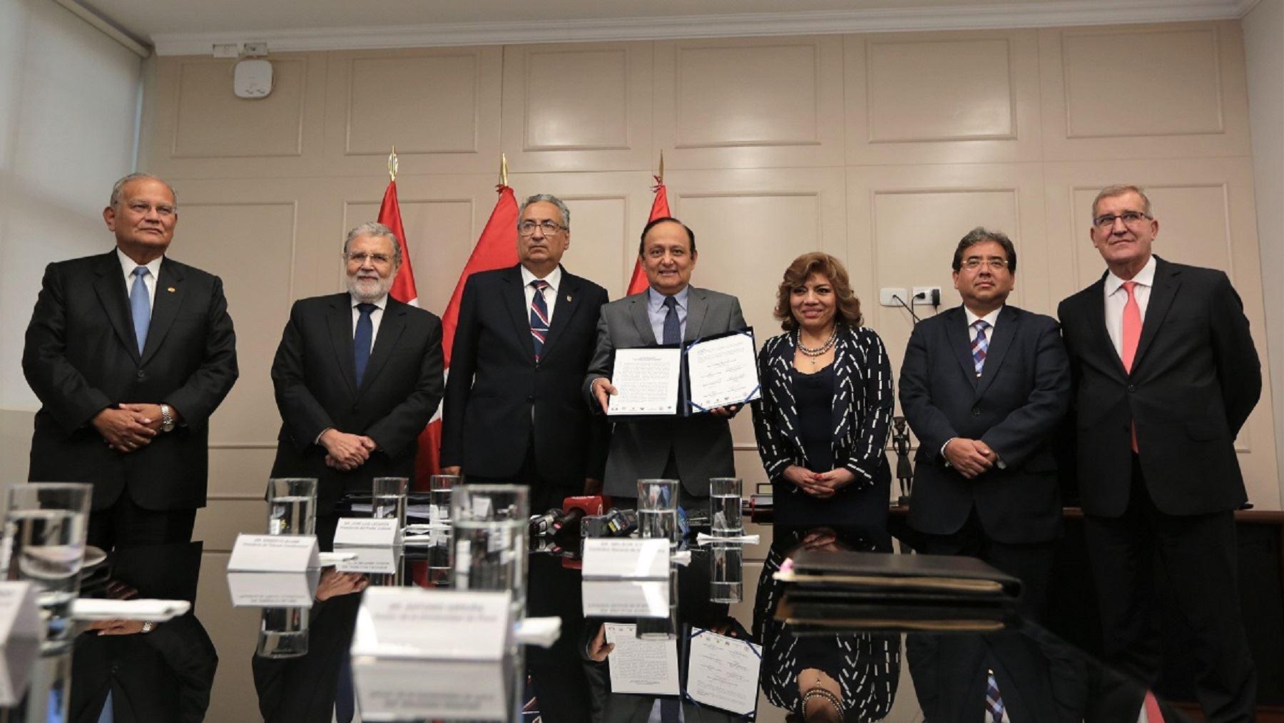 Justicia Viva presenta recomendaciones en torno al reglamento de la Comisión Especial que elegirá a la Junta Nacional de Justicia