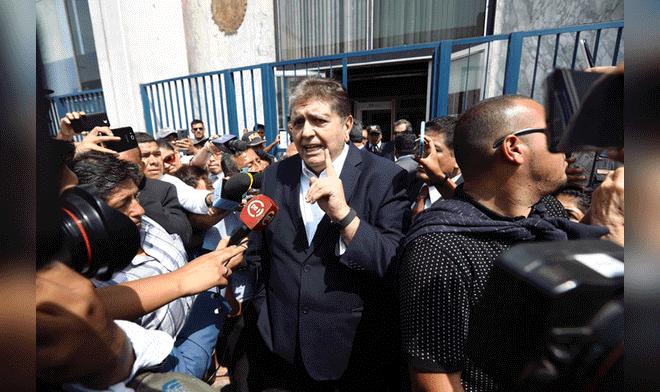 Correos confirman mentira de García sobre Odebrecht