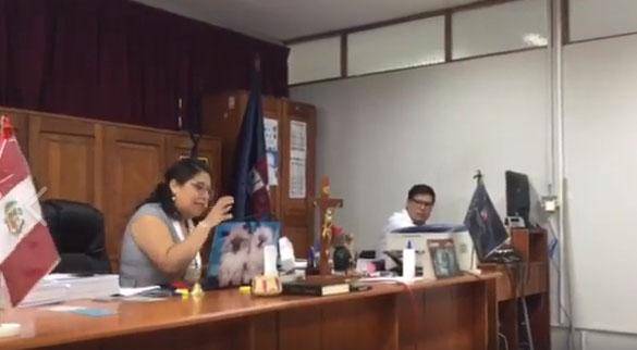 Retroceso en Caso Cuninico por remoción de jueza de Nauta