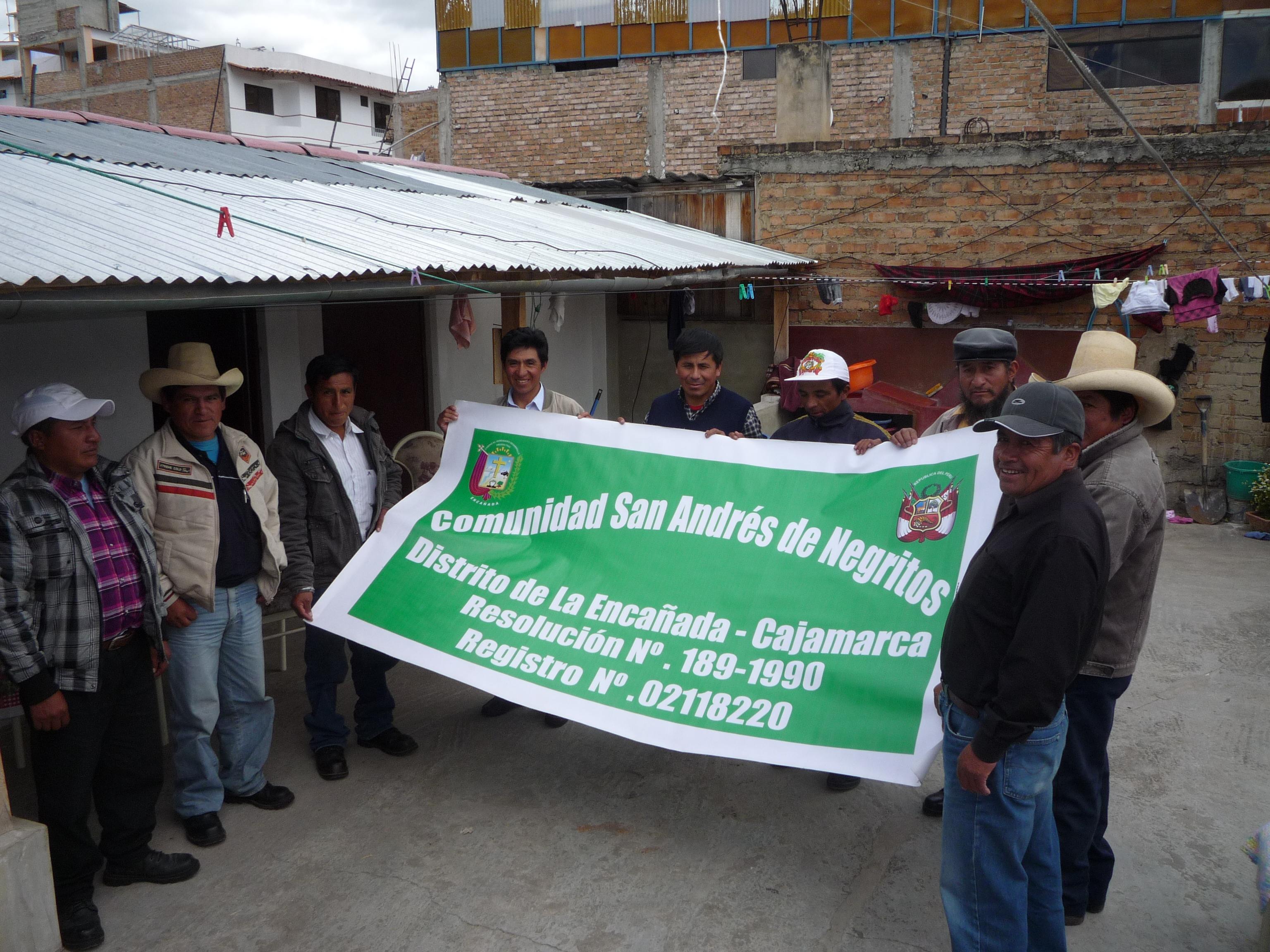 Comunidad de San Andrés de Negritos vs. Minera Yanacocha: ¿Cómo despojar a comunidad campesina de su territorio para favorecer a la megaminería?
