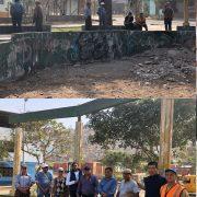 Recuperación del parque Simón Bolivar en Villa María del Triunfo