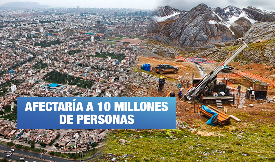 Proponen medidas para detener proyecto minero que amenaza agua de Lima y Callao (Wayka.pe)