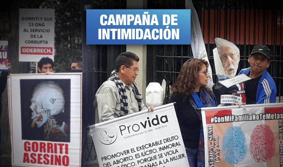 Colectivos conservadores y fujimoristas atacan a IDL (Wayka.pe)