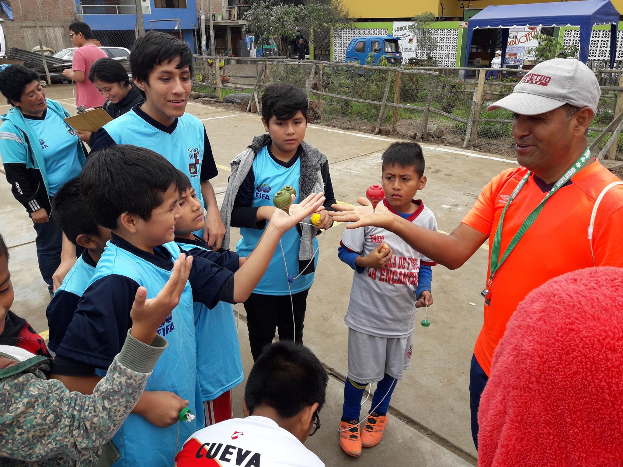 Espacios públicos recuperados en Villa El Salvador