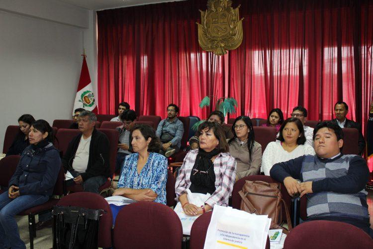 Justicia Viva capacitó a jueces de Ica en temas de transparencia e independencia judicial
