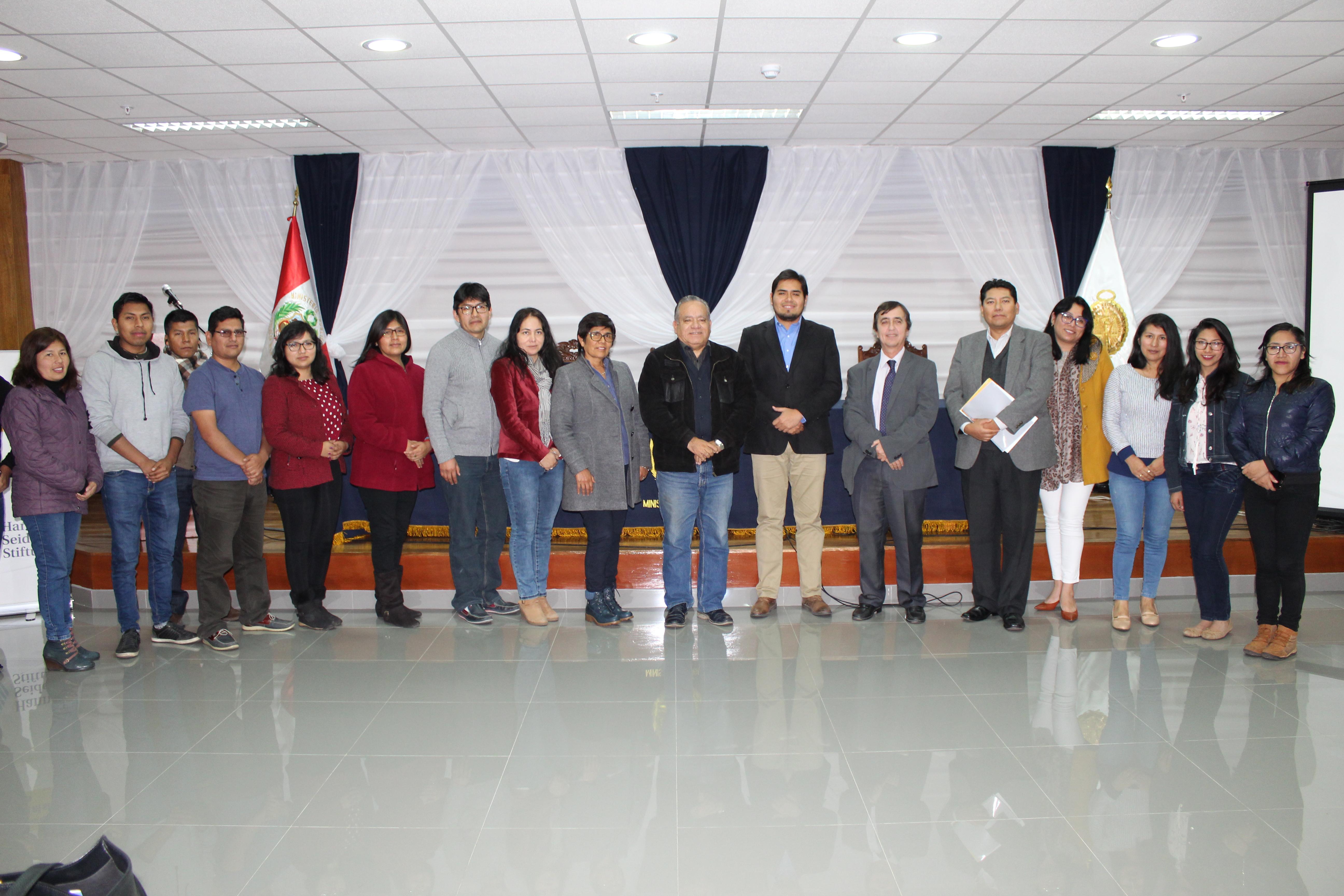 Justicia Viva capacitó a fiscales de Tacna en temas de autonomía y reforma judicial
