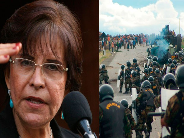 """La ex ministra aprista Mercedes Cabanillas debe declarar mañana por el caso del """"Baguazo"""" (El Popular.pe)"""