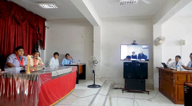 Falla en la videoconferencia impide declarar a Cabanillas (La República)