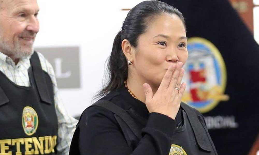 Keiko sale libre y sale avalancha de corruptos (Diario Uno)