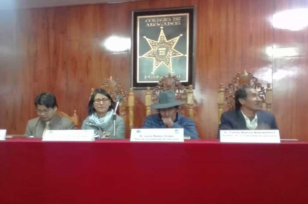 Puno: Jatucachi demanda al Congreso de la República (Correo)