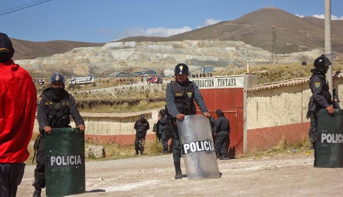 Tribunal Constitucional admite a trámite demanda contra normas que permiten convenios entre la Policía Nacional y empresas extractivas