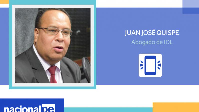 """Juan José Quispe: """"Podría salir toda la cúpula de Fuerza Popular"""" (Radio Nacional)"""