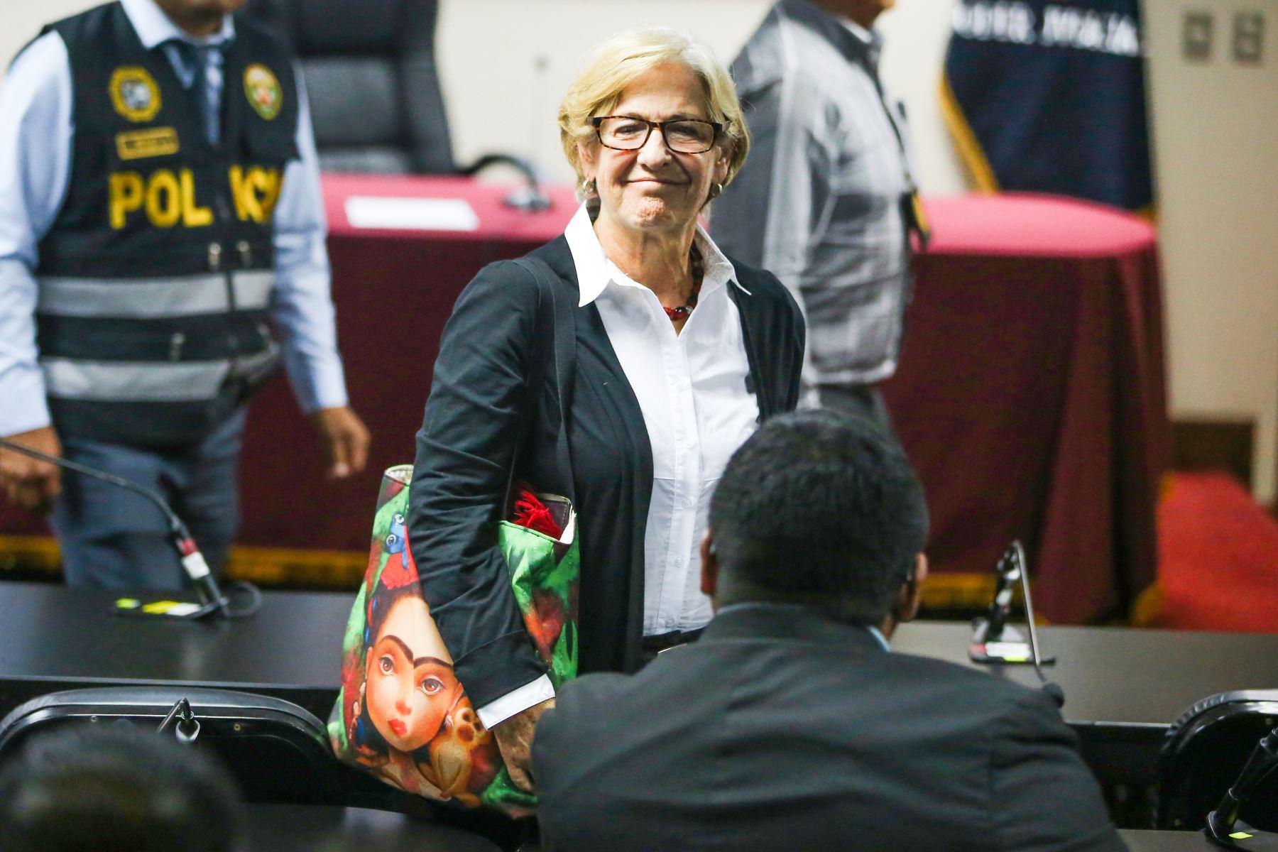 Jorge Barata revela que Susana Villarán tenía el 'codinome' de 'Careca' (Agencia Andina)
