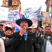 Aymarazo se produjo porque Ingemmet dispone del territorio indígena cada vez que otorga una concesión
