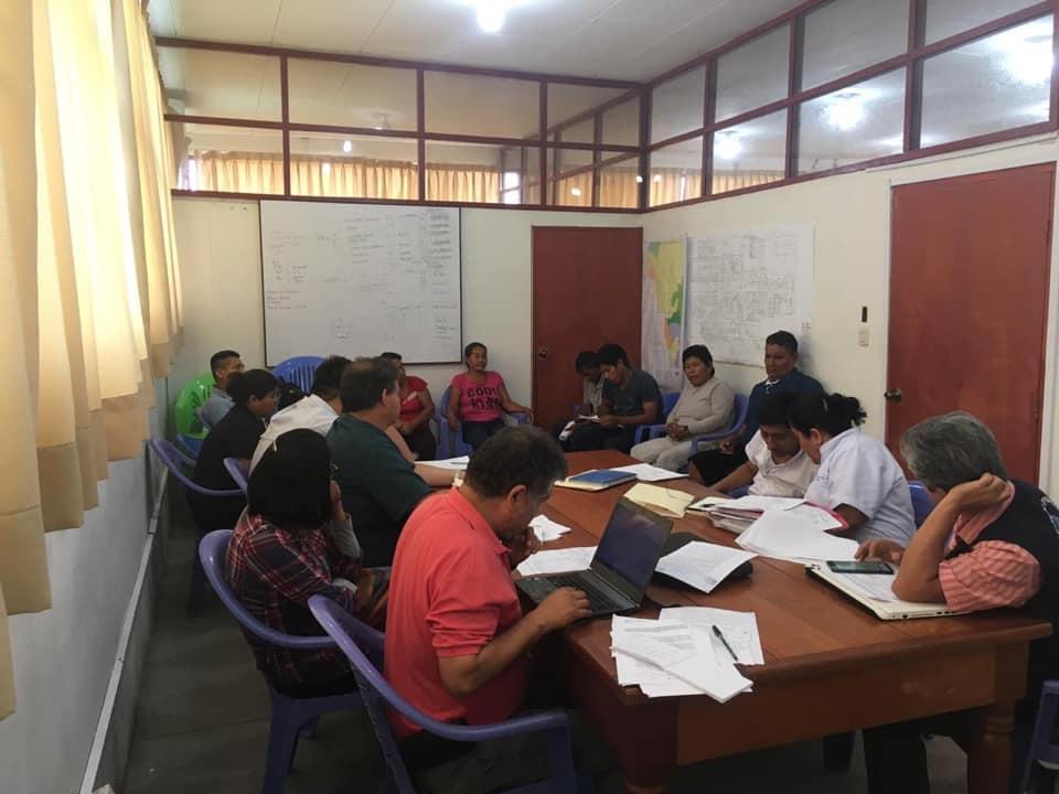 Plan de salud para atender a afectados por derrame de petróleo fue revisado por comunidades y Diresa- Loreto