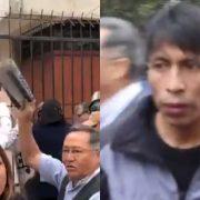 """Representantes del IDL fueron agredidos por grupo fujimorista """"La Resistencia"""" (Lucidez)"""