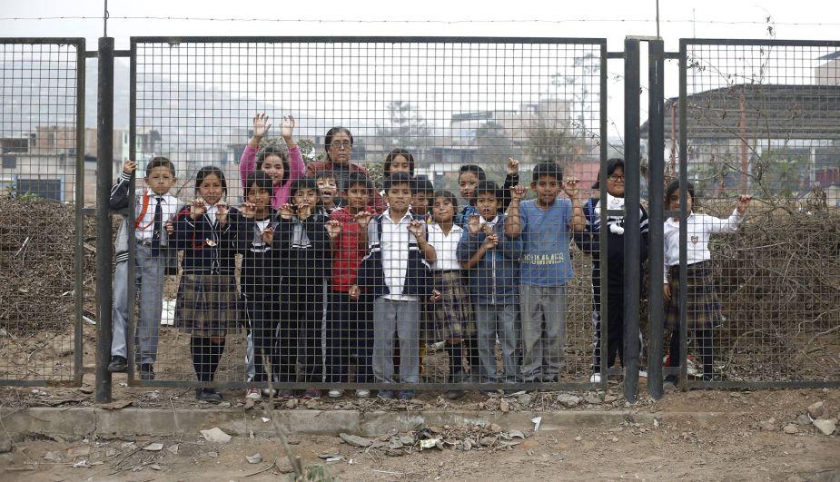 Una experiencia de niñez segura en Villa El Salvador
