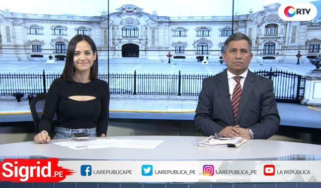 """Carlos Rivera sobre TC en Sigrid.pe: """"Va a ser un proceso contaminado y deslegitimado"""" (La República)"""