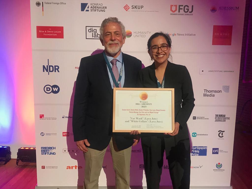 IDL – Reporteros gana el  Premio Global Shining Lightpor sus investigaciones sobre Lava Jato y Lava Juez