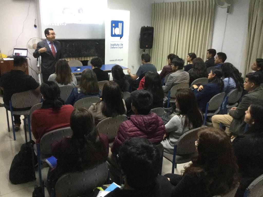 """Se inauguró en IDL """"Curso de formación periodística"""""""