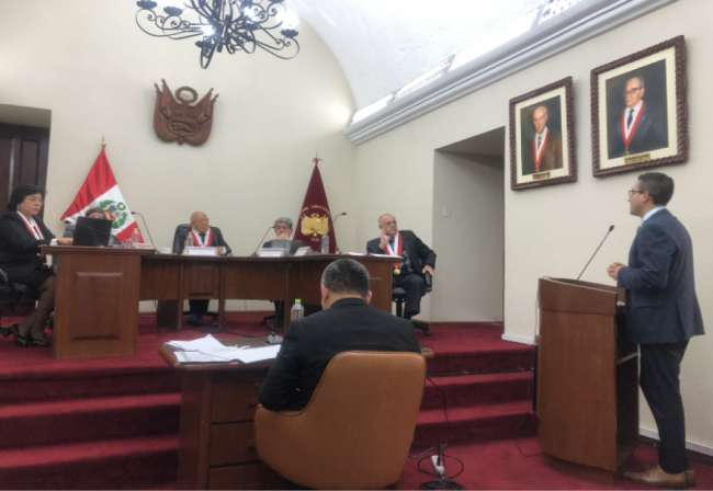 Se realizó audiencia por demanda de inconstitucionalidad contra Ley Policía Nacional del Perú (Voces)