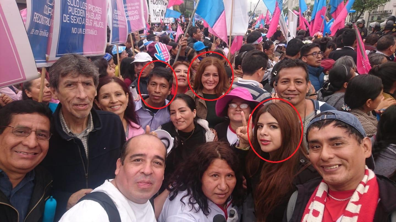 """Fiscalía investiga a miembros de la """"Resistencia"""" fujimorista por delito de discriminación"""