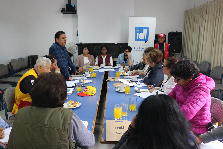 Once representantes de juntas vecinales desaprueban gestión de alcalde Muñoz