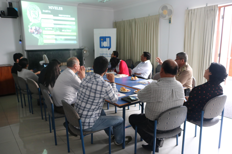 Reunión con gerentes de Seguridad Ciudadana de Lima
