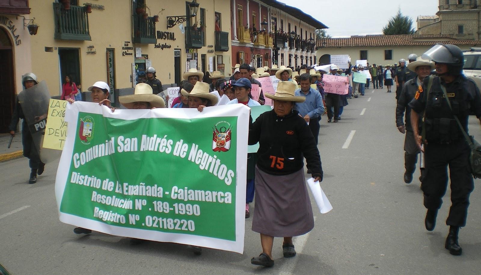 Hace cuatro años que San Andrés de Negritos pide a TC que se pronuncie sobre amparo contra Minera Yanacocha