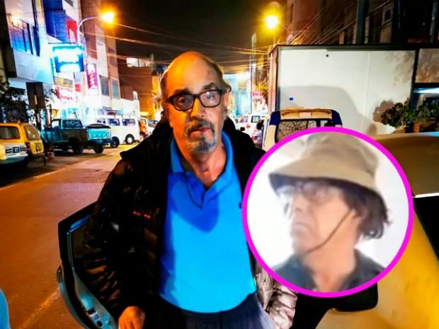 PNP encontró una peluca en bolso de Edwin Donayre al ser capturado esta noche (El Popular.pe)