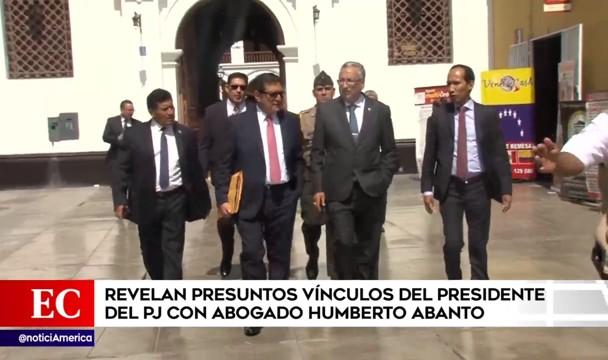 'Cuellos blancos': informe fiscal y testimonio de colaborador comprometen a José Luis Lecaros (América TV)