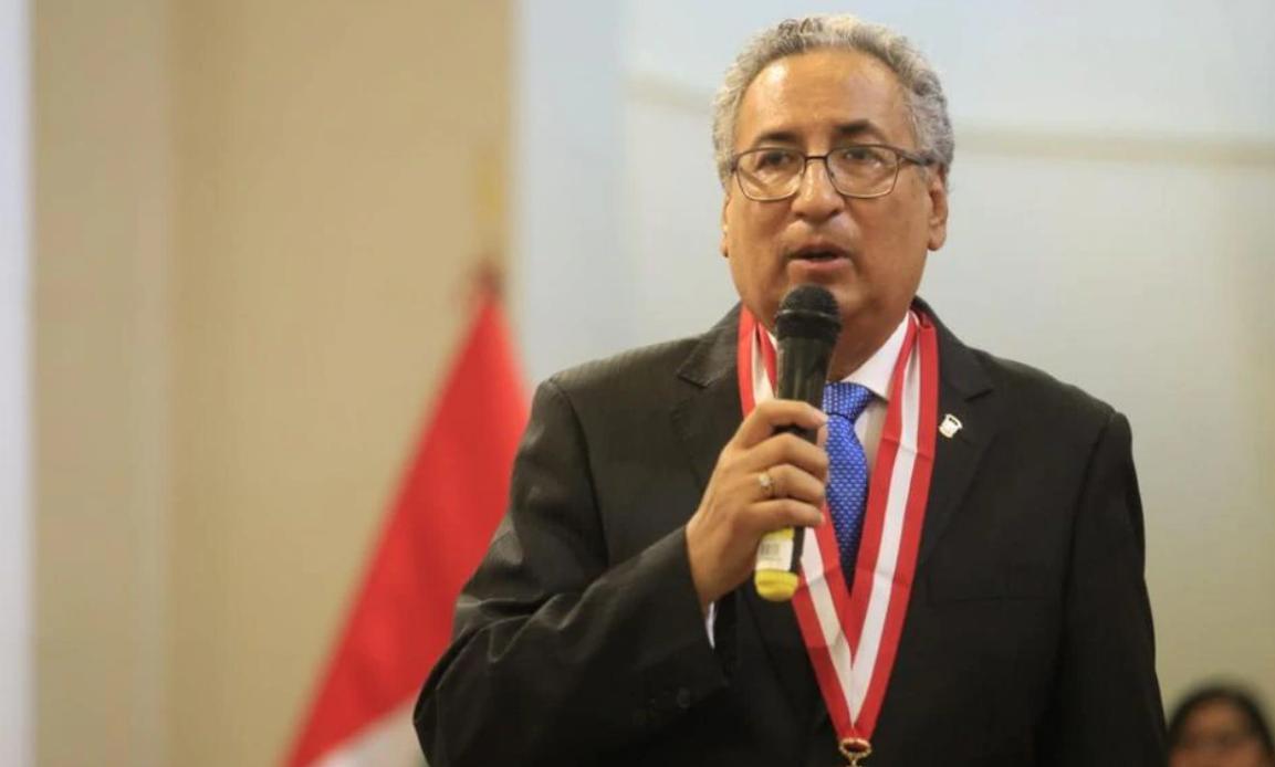 Vinculan al presidente del Poder Judicial a «Los Cuellos Blancos» (El Búho)