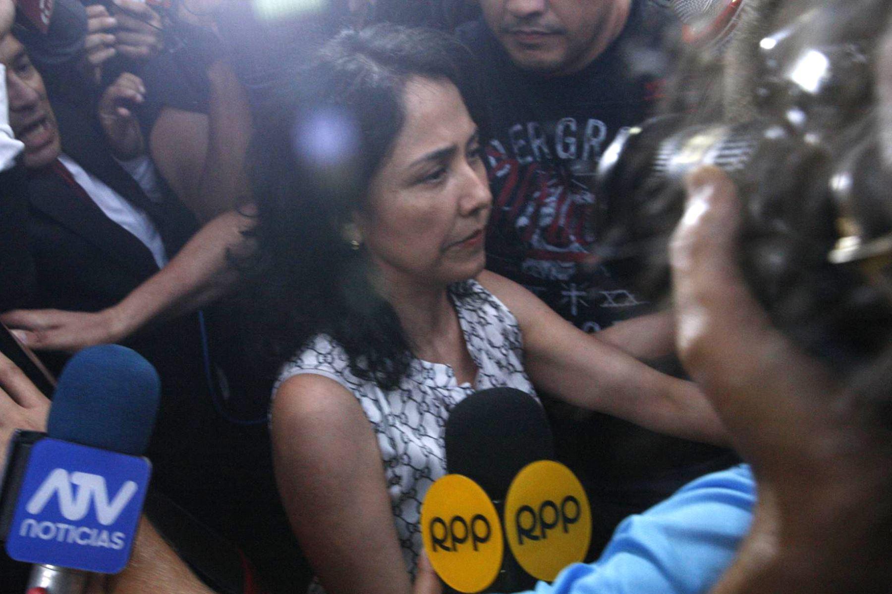 Nadine Heredia: Evalúan hoy impedimento de salida planteado por la Fiscalía (Andina)