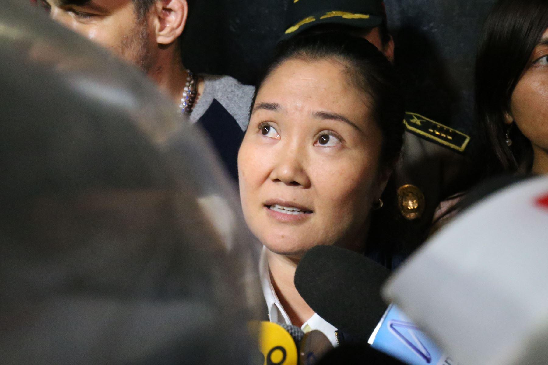 Keiko Fujimori: Rivera dice que Fiscalía debería ir cerrando investigación (Andina)