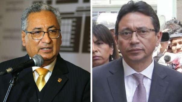 Presidente del Poder Judicial niega vínculos con Humberto Abanto y Walter Ríos (RPP)