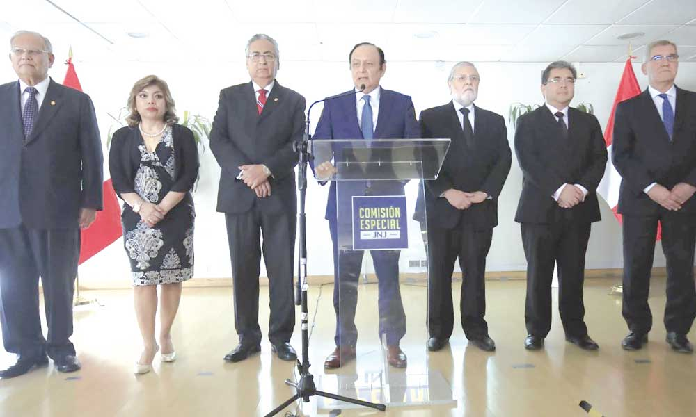 La agenda urgente de la JNJ (Diario Uno)