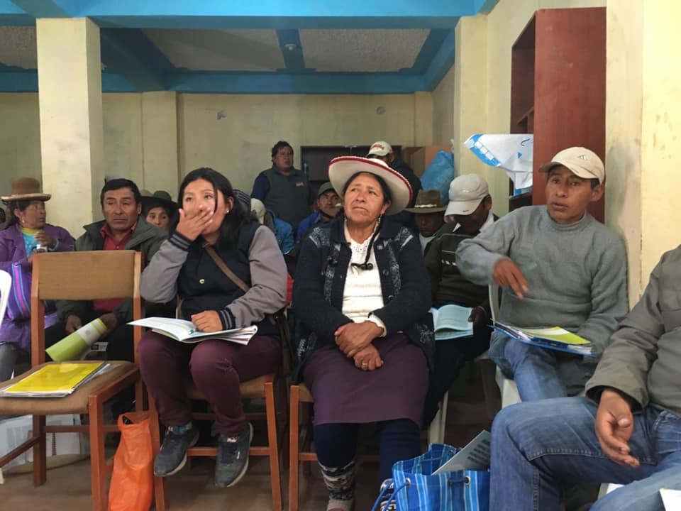MINEM debe obtener consentimiento de comunidades campesinas que serán desplazadas por proyecto Coroccohuayco
